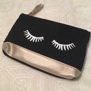 Ipsy Eyelashes Mini Makeup Pouch